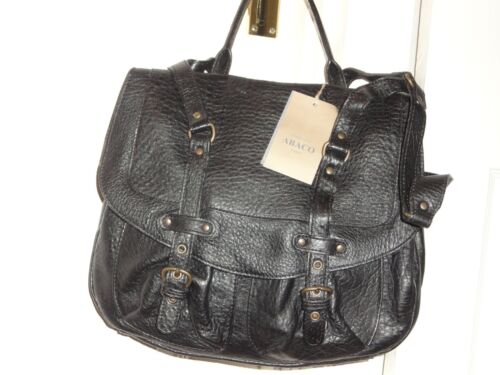 tas lederen tas Pebbled Abaco Pebbled Black lederen Black Pebbled Abaco Abaco Black 7wIOqZc5Rq