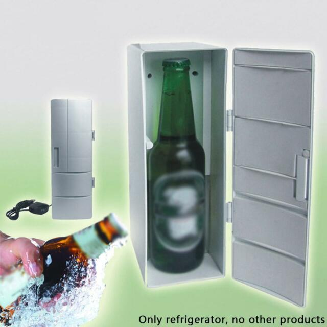 Mini USB Refrigerator Fridge Cooler/Warmer Car Boat Home Office New Portable