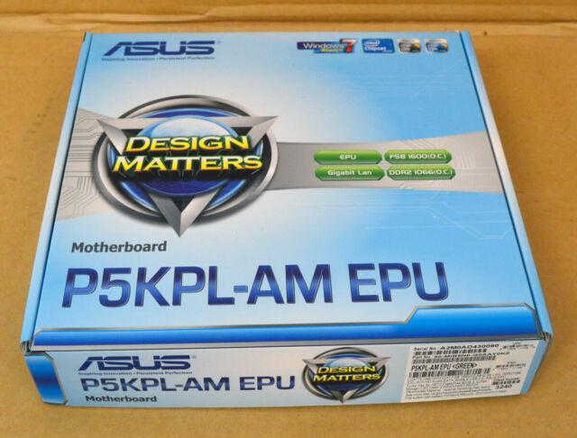 Asus P5kpl-am Epu - Lga 775 - Intel G31 - Ddr2