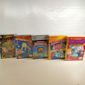 Lot-Of-5-CIB-Cmplete-In-Box-NES-Retro-Video-Games-TESTED-WORKING-5-Screw