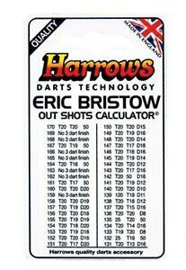 Harrows Mini Dart Flights X 4 Sets Rare No Longer Made