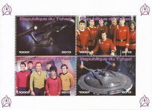Chad-2013-Star-Trek-TV-Show-amp-Movie-4-Stamp-Sheet-3B-539