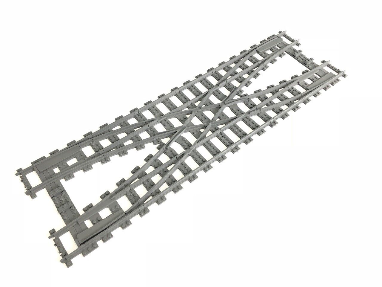 Lego train compatible - Trixbrix Double Crotver R104 3d printed