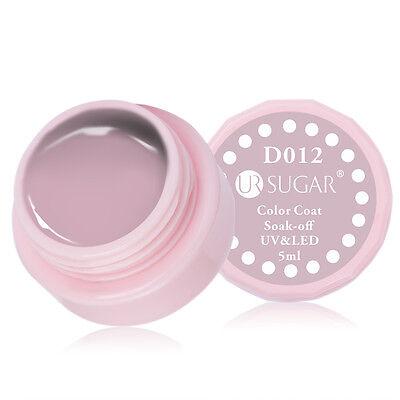 5ml Soak Off Nail UV/LED Gel Polish Nude Color Coat Manicure Varnish Decoration