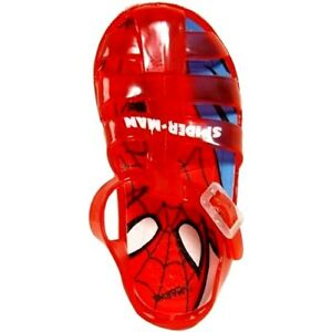 Tongs pour gar/çon Rouge Rouge Spiderman Star
