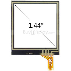 """Factory Outlet 1.4"""" inch Resistive Touch Panel Screen with Soldering FPC"""