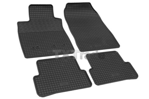 passgenau TOP Qualität  RENAULT CLIO III ab 2005 Gummifußmatten Fußmatten