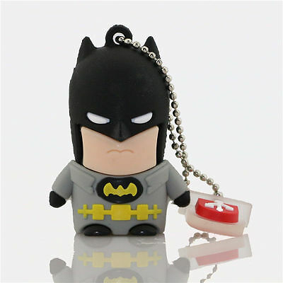 3D Batman model USB 2.0 Memory Stick Flash pen Drive 4GB 8GB 16GB 32GB HP57