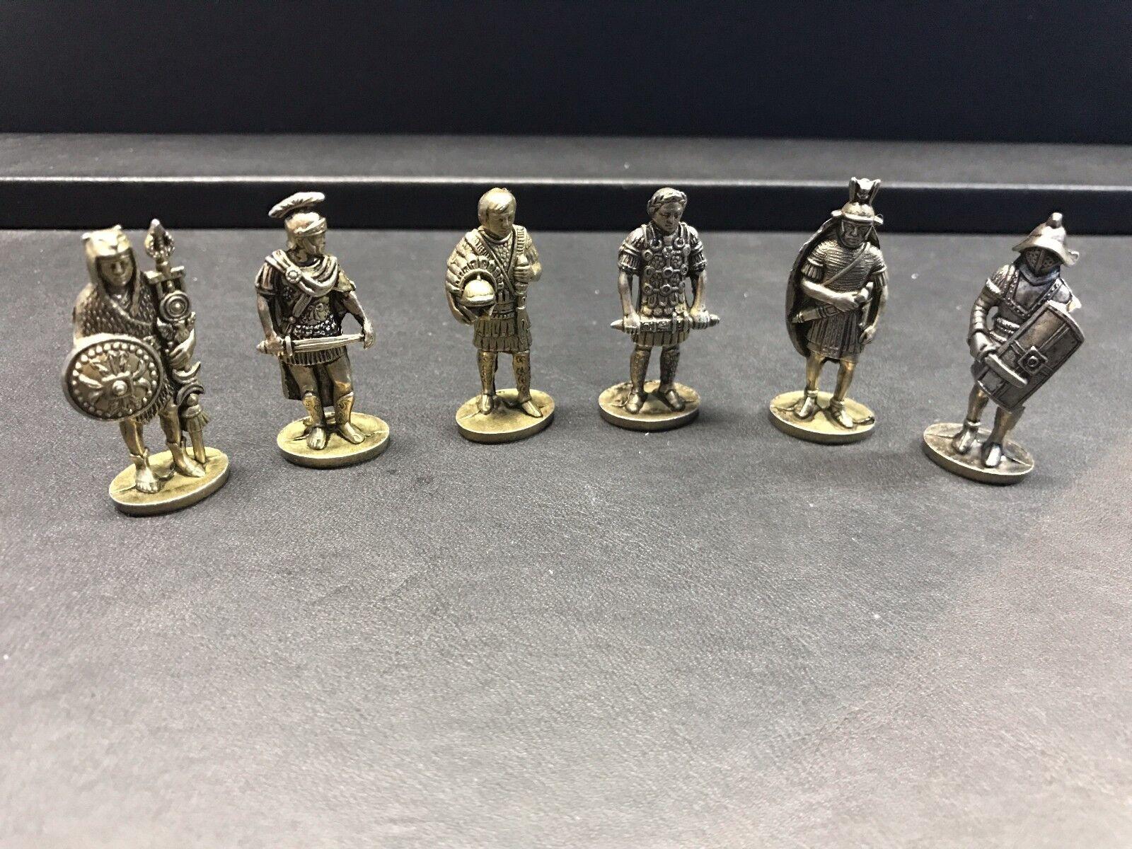 Tid för årgång - Set di 6 Soldati Romani Impero BIG-A546 Usato