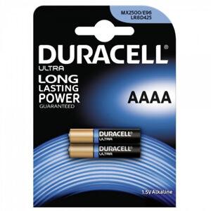 GENUINE DURACELL AAAA 1.5V BATTERY FOR DIGITAL PENS HEADLAMPS JABRA BLUETOOTH  5000394041660