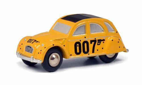 01517 Schuco Piccolo citroen 2cv amarillo James Bond 007