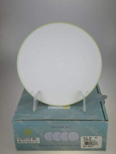 "Noritake Colorwave Mint Mini Plates 6.25"" Set of 4 NEW IN BOX"