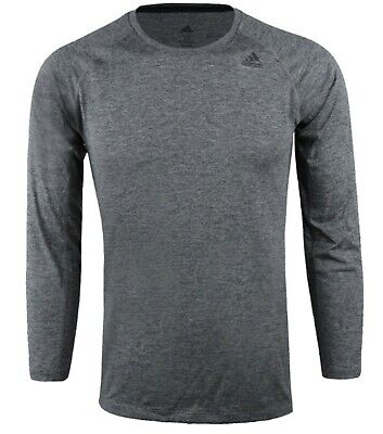 Ambitious Adidas Women Tech Prime L/s Shirts Gray Black Yoga Gym Shirt Tee Jersey Du3487 Chills And Pains