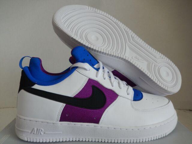 Frente a ti nostalgia Disgusto  Nike Air Force 1 CMFT Huarache White Black Lyon Blue Bold Berry 705063 100  for sale online | eBay