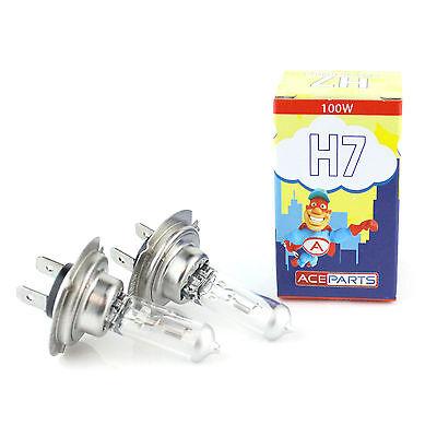 Vauxhall Astra MK5//H H1 100w Clear Xenon HID High Main Beam Headlight Bulbs Pair