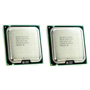 Lot-of-2-Intel-Core-2-Duo-E7500-2-93GHz-3MB-1066Mhz-LGA775-SLGTE-CPU-Processor
