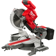 "Milwaukee 2734-20 M18 FUEL 18V Li-Ion Dual-Bevel 10"" Slide Compound Miter Saw"