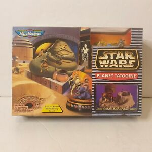 STAR-WARS-Micro-Machines-Playset-PLANET-TATOOINE-new-and-sealed-galoob