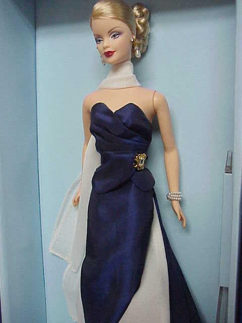 Convención nacional 2004 de Barbie Barbie nunca quitado de la Caja Bufanda Lápiz Labial bajo Edicion Numerada