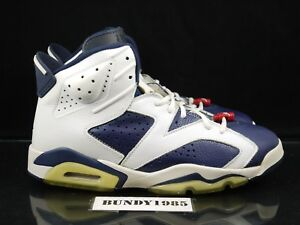 buy online ab7a9 2684a Image is loading 136038-461-Nike-Air-Jordan-6-retro-Olympic-