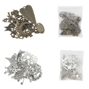 Ratro-50g-pack-Random-Shapes-Jewelry-Charms-Pendants-DIY-Crafts-Making-Findings