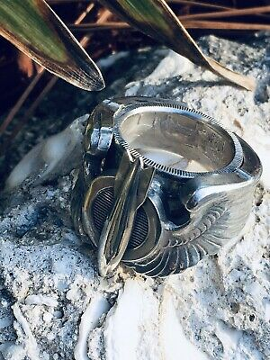 Firemen Fire Department Pure Silver Made to Order Coin Ring