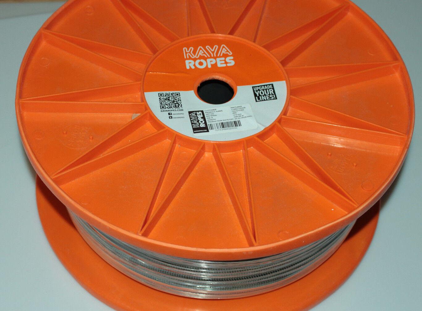 Seil 500m schwarz Kaya Ropes 10-12mm 743.10-12.002 Lupes Cover PES Schnur Tau