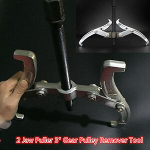 2-Jaw-Puller-3-034-75mm-Gear-Hub-Bearing-Reversible-Fly-Wheel-Pulley-Remover-Tool