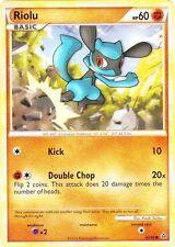 x4 Riolu - 60/95 - Common Pokemon Unleashed M/NM English