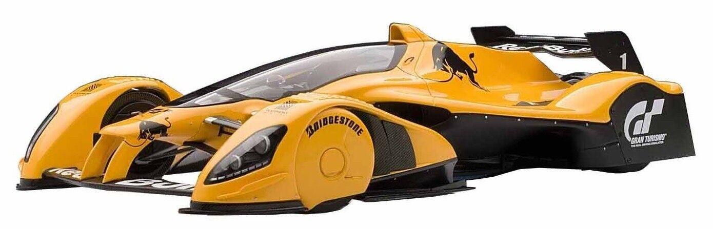 AUT18106 - Voiture Gran Turismo - rouge Bull X2010 de couleur Orange - 1 18
