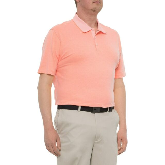 adidas Golf Adipure Premium Bold Mens Fashion Polo Shirt Sunglo 2xl