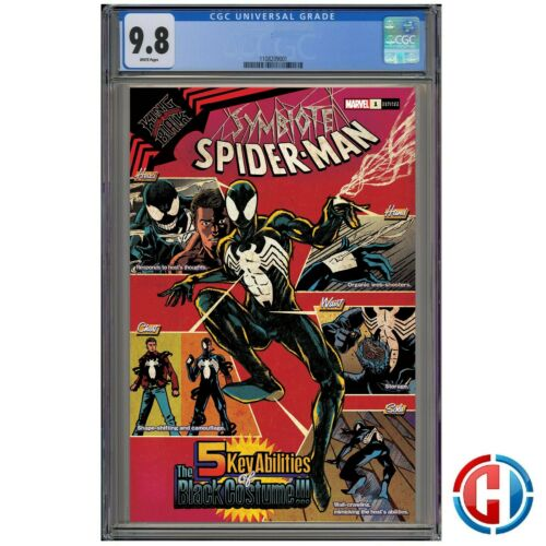 SYMBIOTE SPIDER-MAN KIB #1 CGC 9.8 Guaranteed PRESALE 11//18//20 SUPERLOG VAR