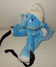 Rare Sac à dos enfant SCHTROUMPF angel SMURF bag Vintage 45 cm