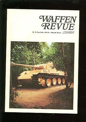 Sparsam Waffen Revue 80cm Panzerkampfwagen Maus ,12,8cm Flak,schwere Panzerbüchse