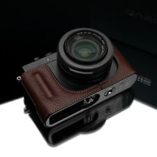 GARIZ Leather Case Grip Leica DLux D-Lux HG-DLUXBR Brown