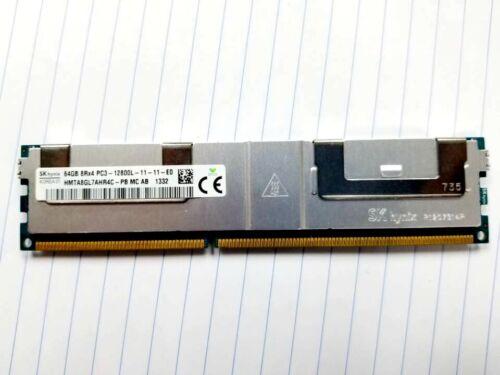 SK hynix 64GB 8RX4 PC3-12800L DDR3-1600MHz 240pin LRDIMM ECC Reg Server Memory