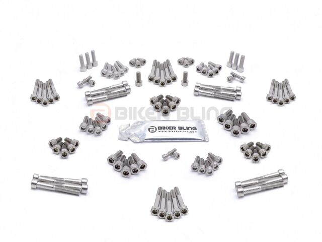 Honda VFR1200F 2011-2015 stainless steel engine casing cover bolts
