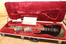 IBANEZ Prestige RG 1570  BLUE SPARKLE With Hard Shell Case Original JAPAN