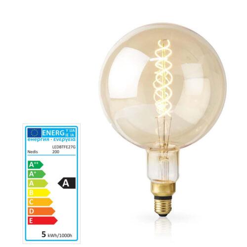 XXL LED Retro Filament Lampe dimmbar E27 5 W 280 lm 2000 K Glühlampe Glühbirne