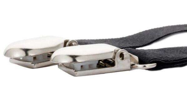 Ein Strumpfhalter y – Form ca 32 – 42cm Nieten Strapshalter Straps Strumpfband