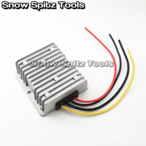8v-40v to 13.8v 5A 69W DC//DC Waterproof Shockproof Power Step Up//Down Converter