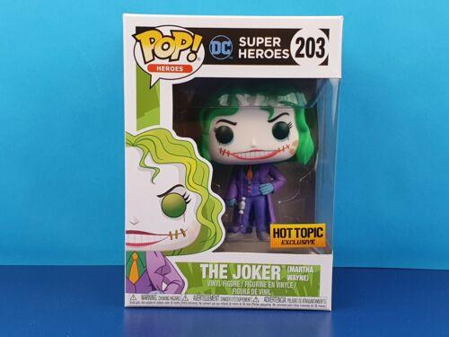 Il Joker Martha Wayne esclusiva Hot Topic Funko Pop Vinile Batman FLASHPOINT 203