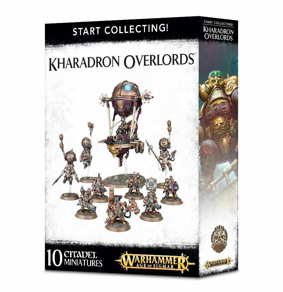 Warhammer Age of Sigmar Start Collecting  Kharadron Overlords NIB