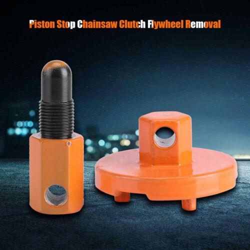Pro Piston Stop Chainsaw Clutch Flywheel Removal Tool For Husqvarna Stihl Repair