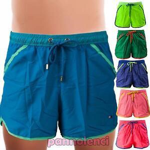 Bermuda-uomo-costume-pantaloncini-mare-piscina-boxer-swimsuit-nuovo-85105-MOD