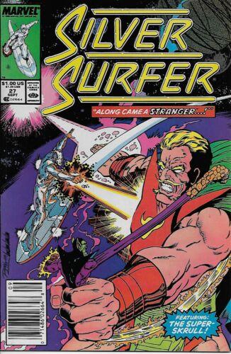 1989 Steve Englehart /& Ron Lim Silver Surfer No.27