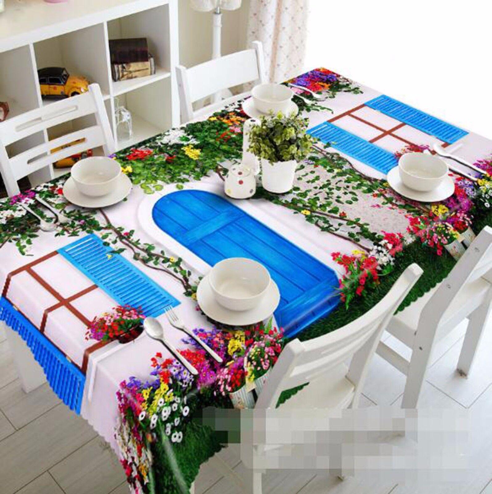 3D Porte Vignes Nappe Table Cover Cloth fête d'anniversaire AJ papier peint Royaume-Uni Citron