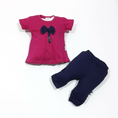 coiffe,Taille 74; 80; 86; 92 ♥ NEUF ♥ layette2 Pièces Shorts