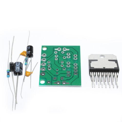 Do it yourself TDA7297 Amplificateur Board 15W+15W DC12V Dual-Channel piste stéréo Module Kit
