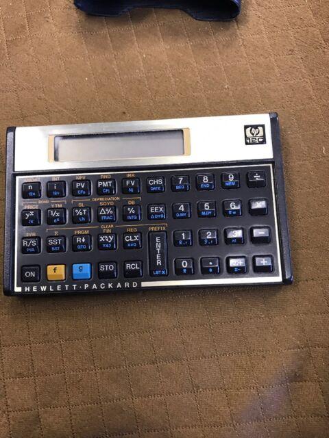Financial Calculator Online >> Hp 12c 30th Anniversary Edition Financial Calculator